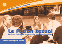 Flyer der Gruppe Le fusion sexual